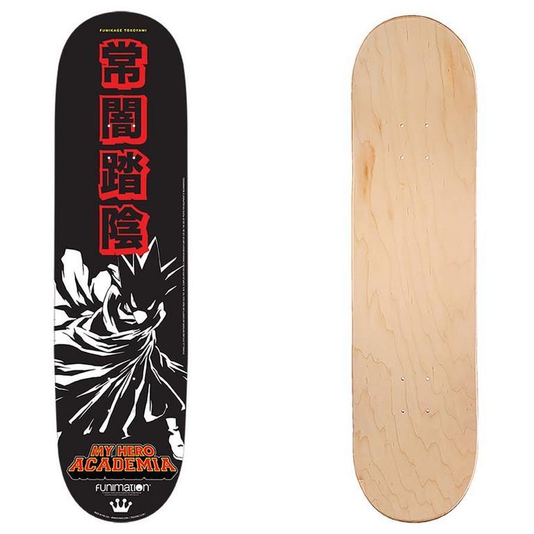 My Hero Academia Tokoyami Skateboard Deck Summer Convention 2019 Only at GameStop