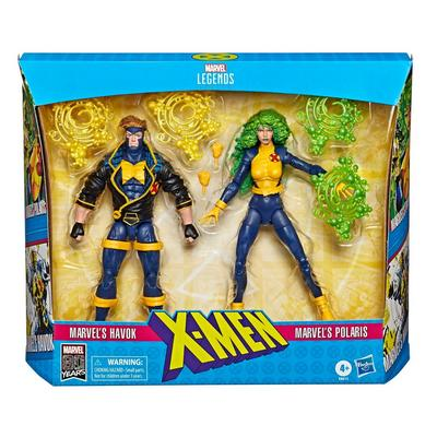 Marvel Legends X-Men Havok and Polaris Figure 2 Pack