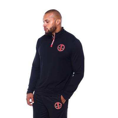 Deadpool Quarter Zip Pullover
