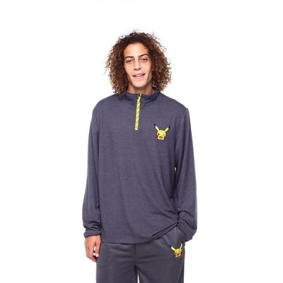 Pokemon Pikachu Quarter Zip Pullover