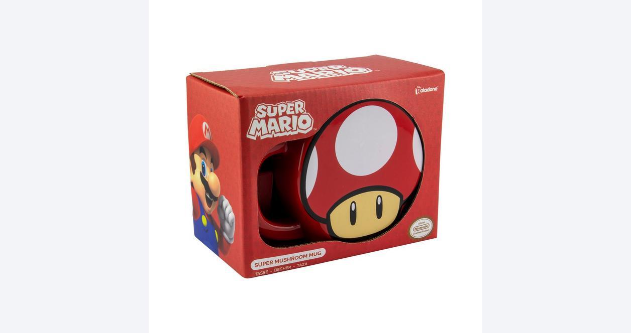 Super Mario Bros. Super Mushroom Mug