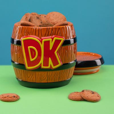 Donkey Kong Barrel Cookie Jar
