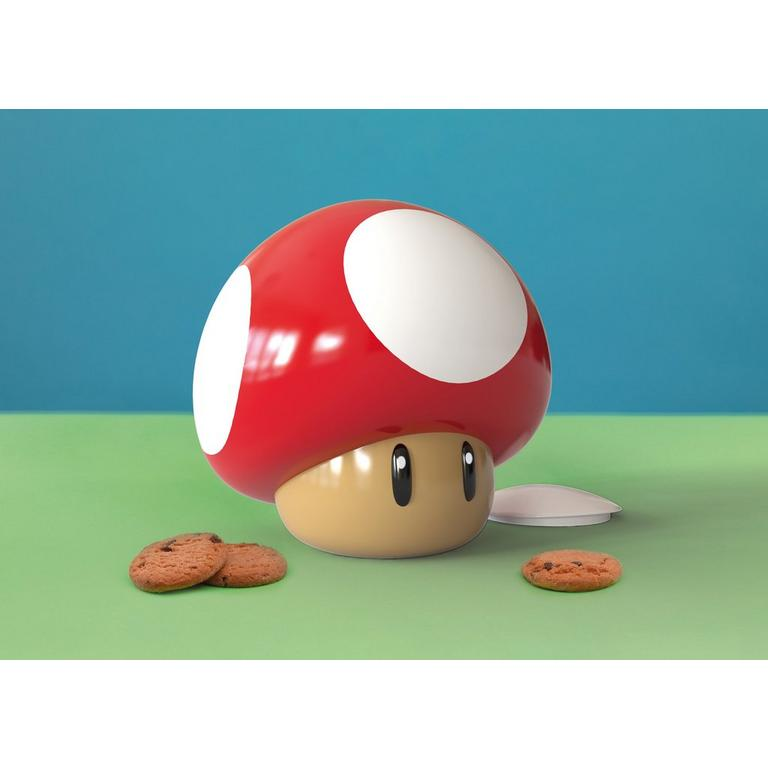 Super Mario Bros Super Mushroom Cookie Jar Gamestop