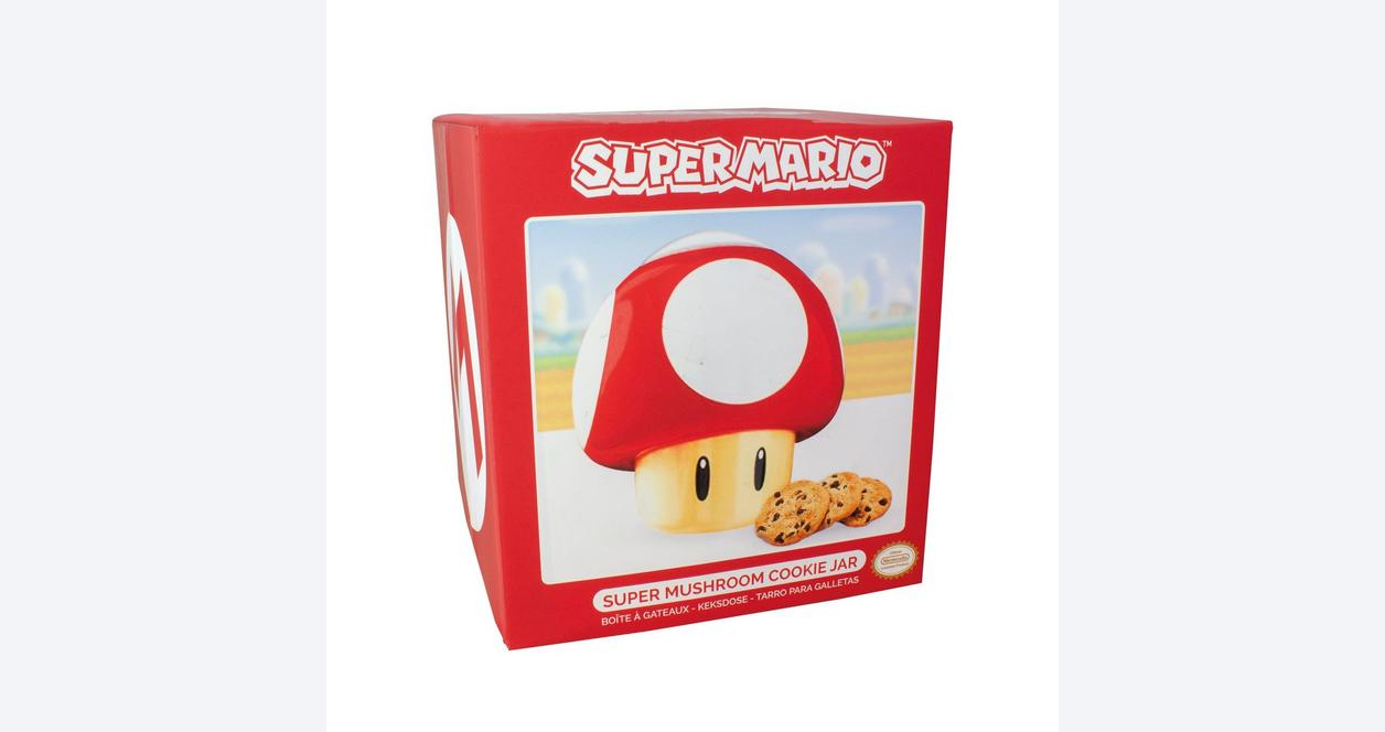 Super Mario Bros  Super Mushroom Cookie Jar | GameStop
