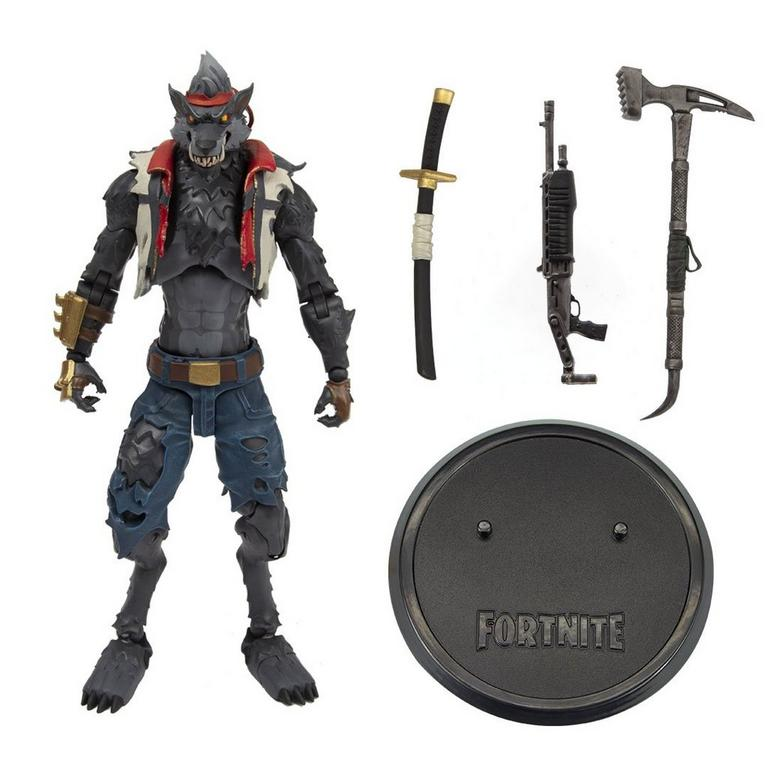 "Hybrid Stage 3 McFarlane Toys 7/"" Fortnite Action Figure"
