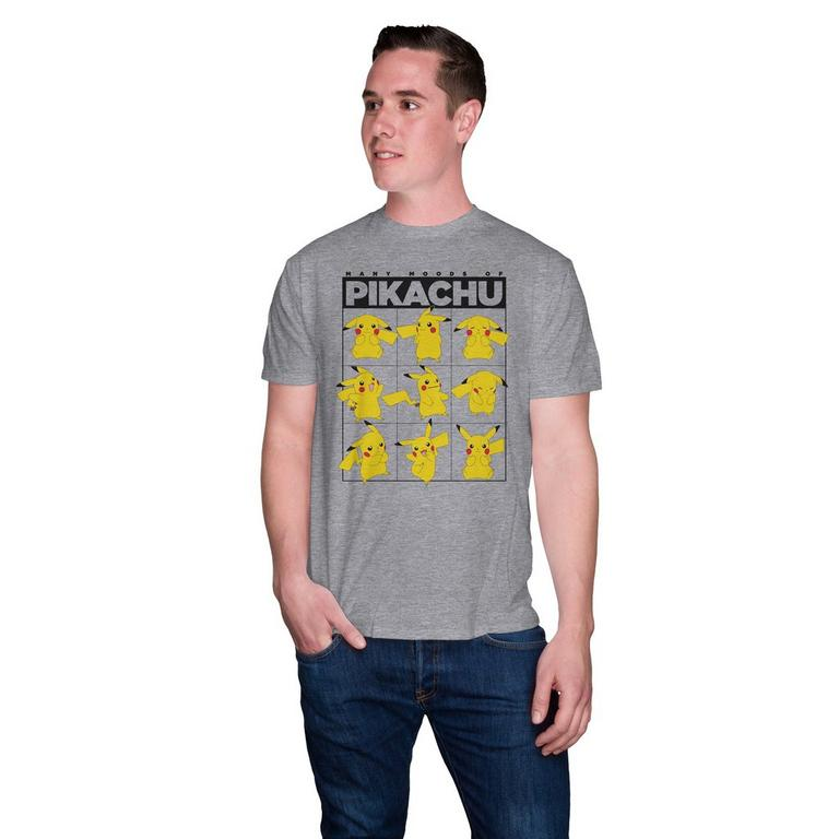Pokemon Pikachu Moods T-Shirt