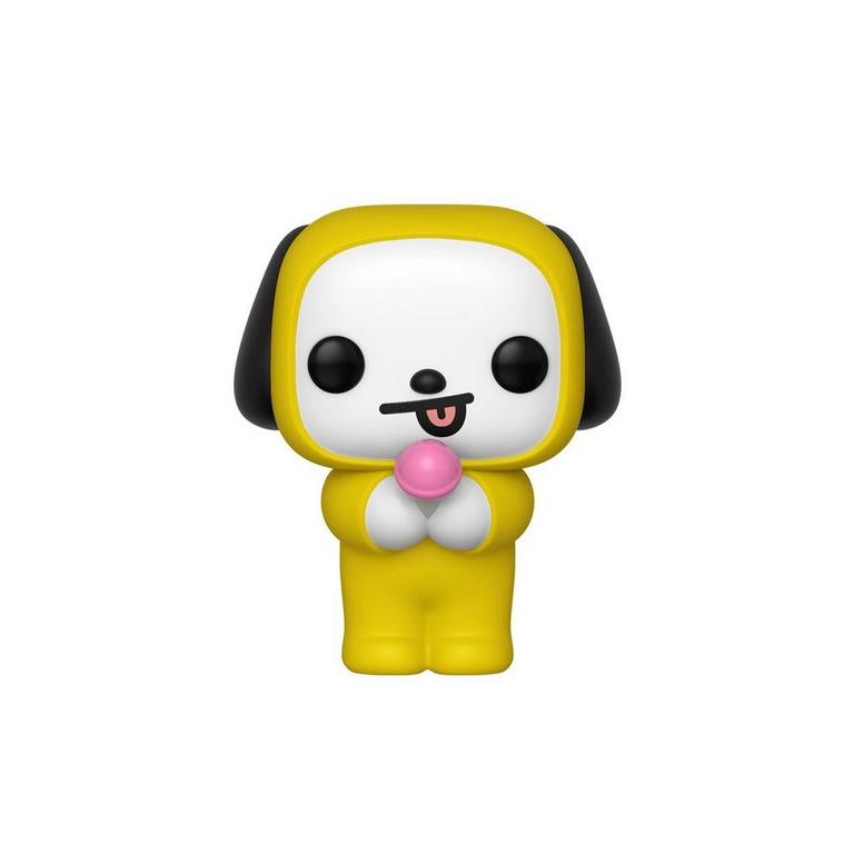 Pop Bt21 Chimmy Gamestop Chimmy is a white puppy with black ears. pop bt21 chimmy gamestop