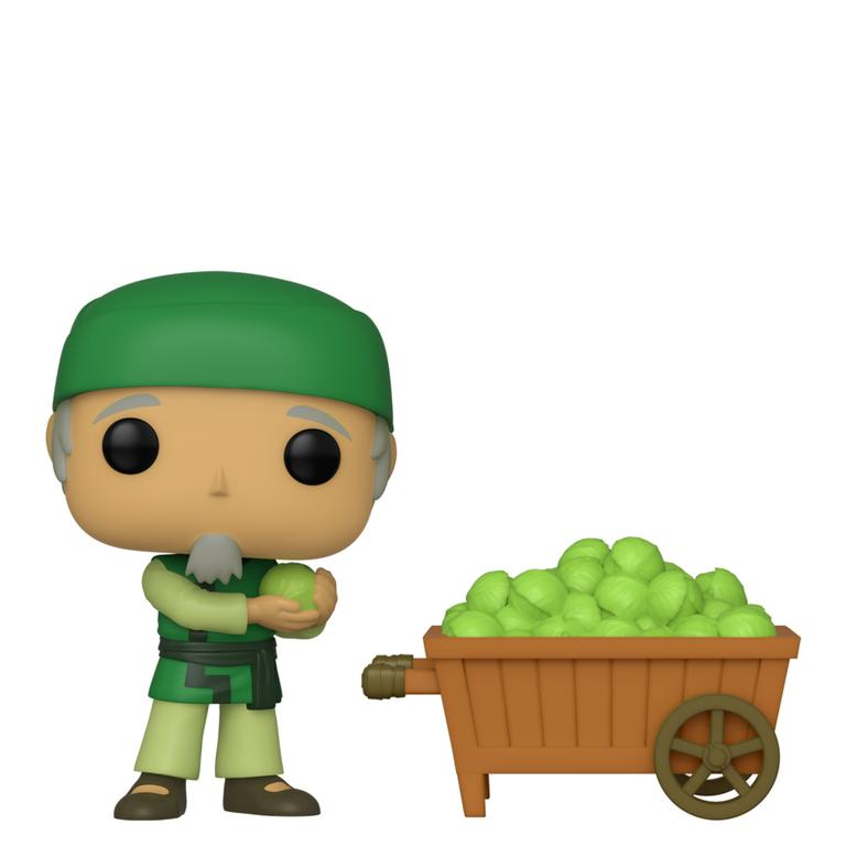 POP! Animation: Avatar: The Last Airbender Cabbage Man and Cart Fall Convention 2019