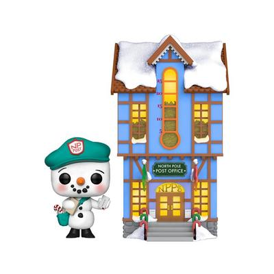 POP! Town Christmas: Peppermint Lane Frosty Franklin with Post Office Only at GameStop