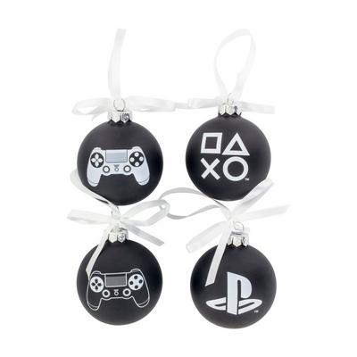PlayStation Ball Ornament 4 Pack