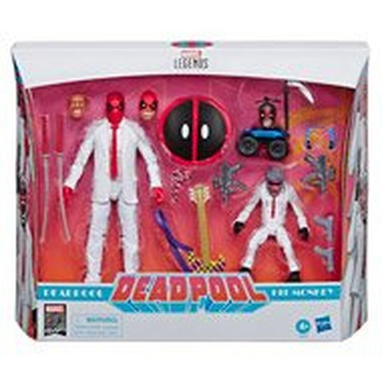 Marvel Legends Series 80th Anniversary Deadpool and Hit-Monkey Action Figure 2 Pack