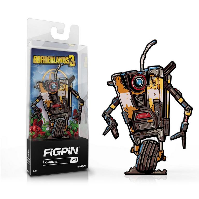 Borderlands 3 Claptrap FiGPiN