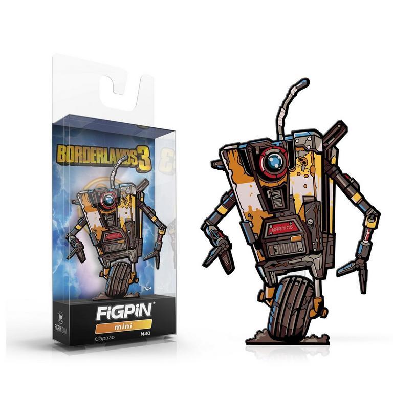 Borderlands 3 Claptrap FiGPiN Mini