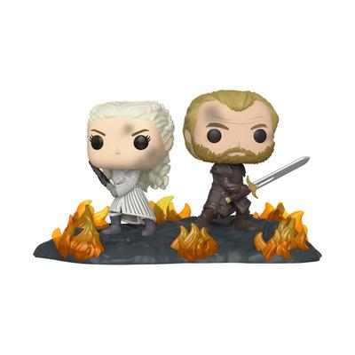 POP! Game of Thrones: Daenerys and Jorah with Swords