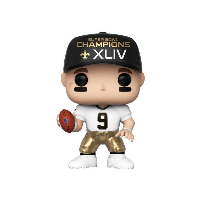 new style 486ca a3422 POP! NFL: Saints Drew Brees Super Bowl Champions XLIV | GameStop