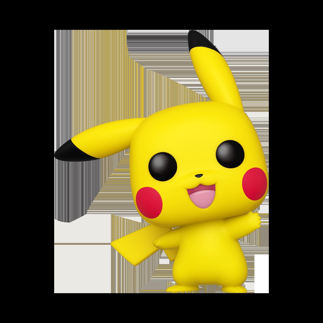 Pop Games Pokemon Pikachu Waving Gamestop