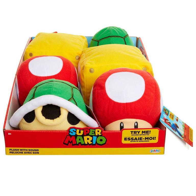 Super Mario Bros. Plush with Sound (Assortment)