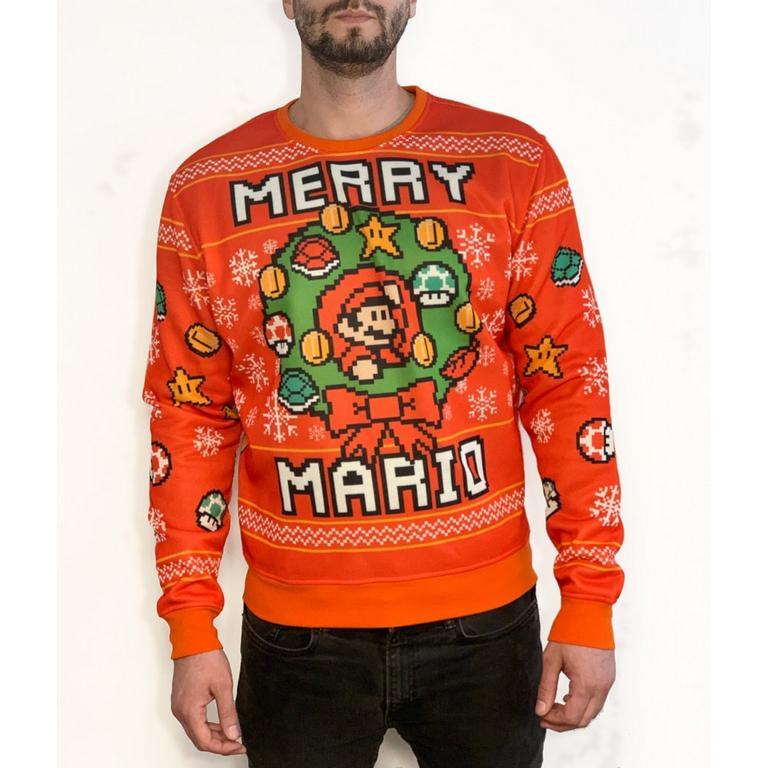 Super Mario Bros. Merry Mario Holiday Sweater