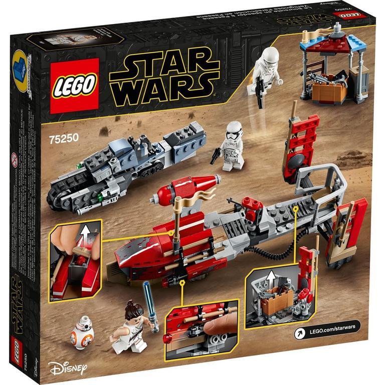Lego Star Wars Episode Ix The Rise Of Skywalker Pasaana Speeder Chase 75250 Gamestop