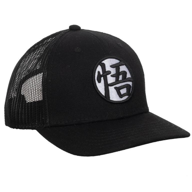 Dragon Ball Z Black Mesh Baseball Cap