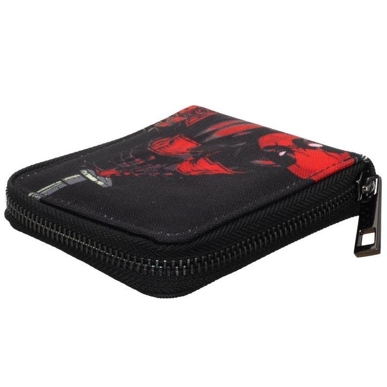 Deadpool Zip-Around Wallet