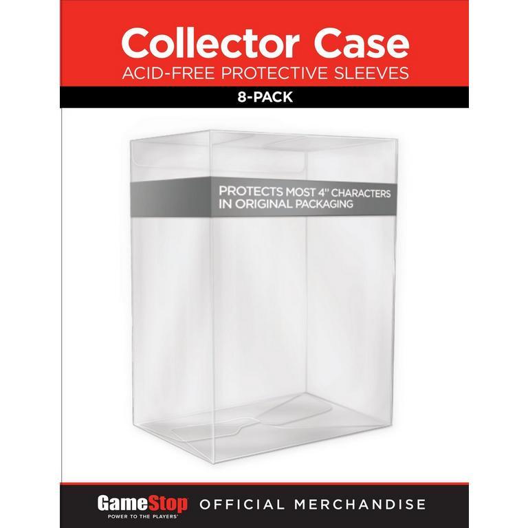 Vinyl Figure Protective Sleeve 8 Pack