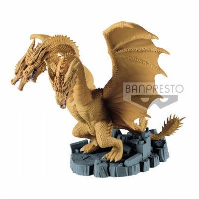 Godzilla: King of the Monsters King Ghidorah Deforume Statue
