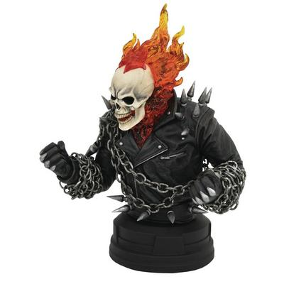 Marvel Comic Ghost Rider Bust