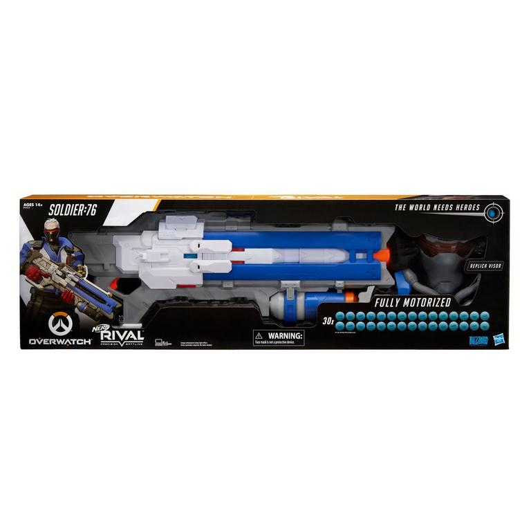 Nerf Rival Overwatch Soldier: 76 Blaster and Targeting Visor