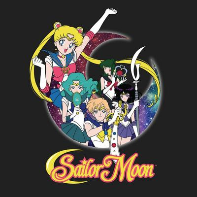 Sailor Moon Fighters T-Shirt