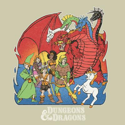 Dungeons and Dragons Heroes T-Shirt