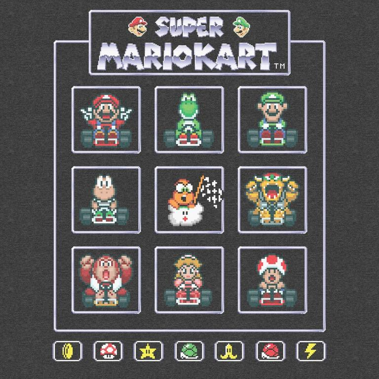 Mario Kart Choose Your Racer T-Shirt