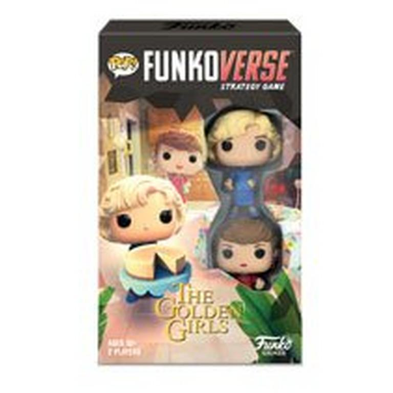 Funkoverse Strategy Game - The Golden Girls 100