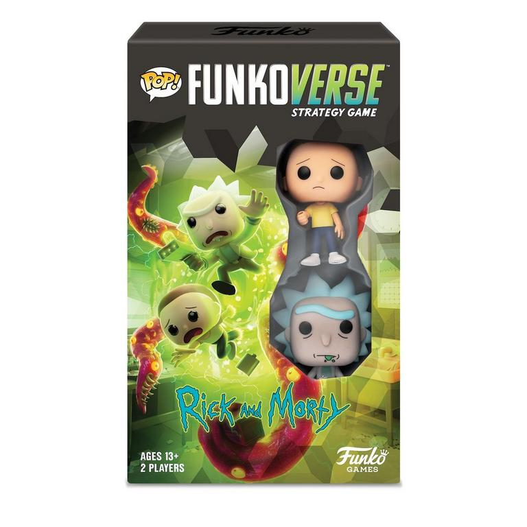 Funkoverse Strategy Game Rick and Morty 100