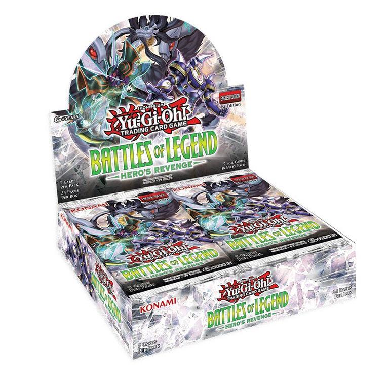 Yu-Gi-Oh! Battles of Legend Hero's Revenge Booster Box