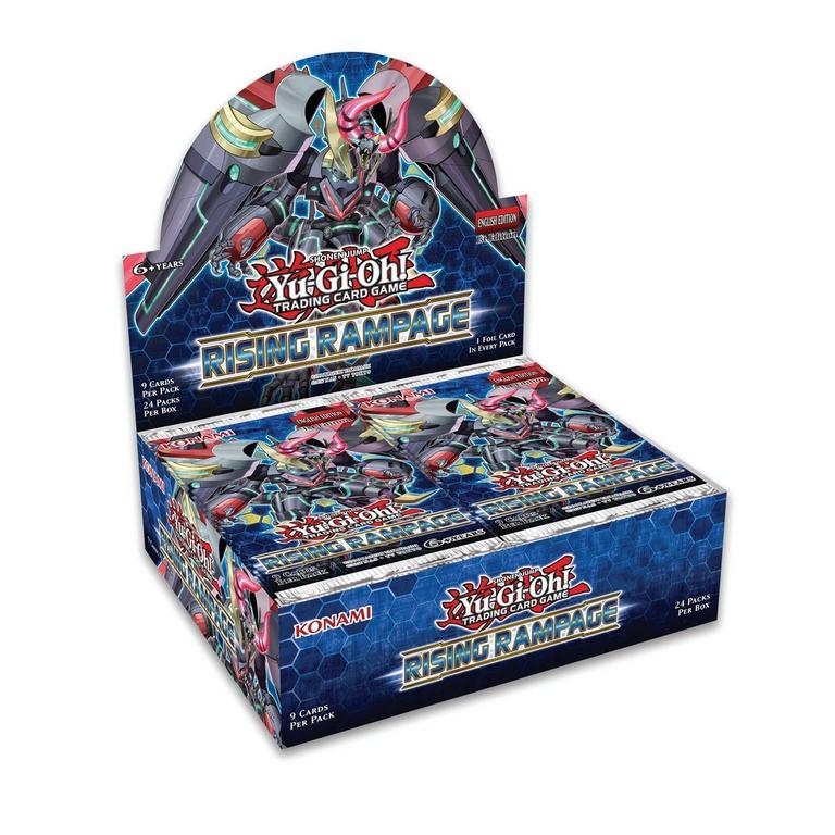 Yu-Gi-Oh! Rising Rampage Trading Card Booster Box
