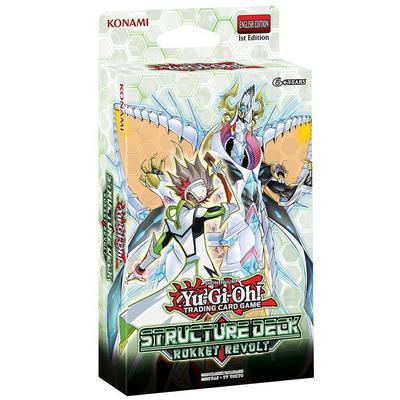 Yu-Gi-Oh! Trading Card Game Rokket Revolt Structure Deck
