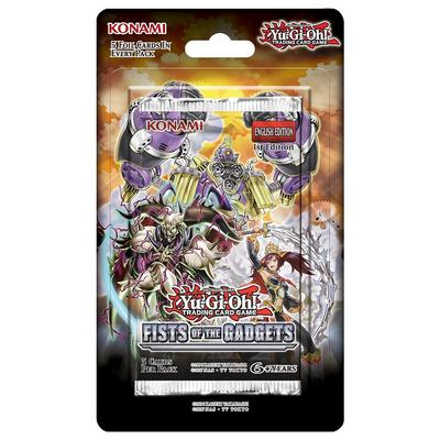 Yu-Gi-Oh! Trading Card Game Fists of the Gadgets Booster Pack