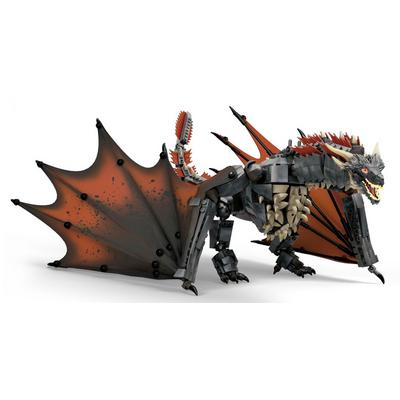 Game of Thrones Daenerys and Drogon Mega Construx Set Summer Convention 2019