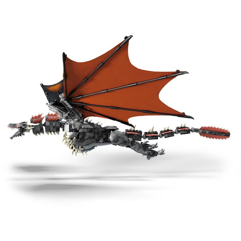 Game of Thrones Daenerys and Drogon Mega Construx Summer Convention 2019