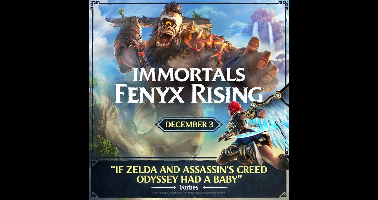 Immortals Fenyx Rising Gold Edition