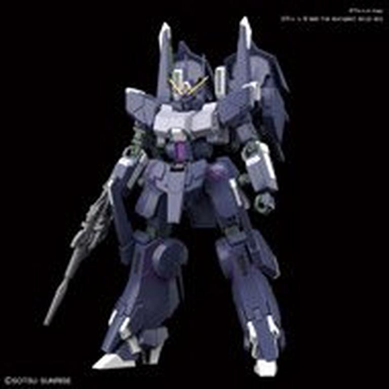 Gundam Mobile Suit Gundam NT Silver Bullet Suppressor High Grade Universal Century Model Kit