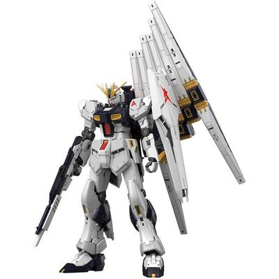 Gundam Mobile Suit Gundam: Char`s Counterattack Nu Gundam Real Grade Model Kit