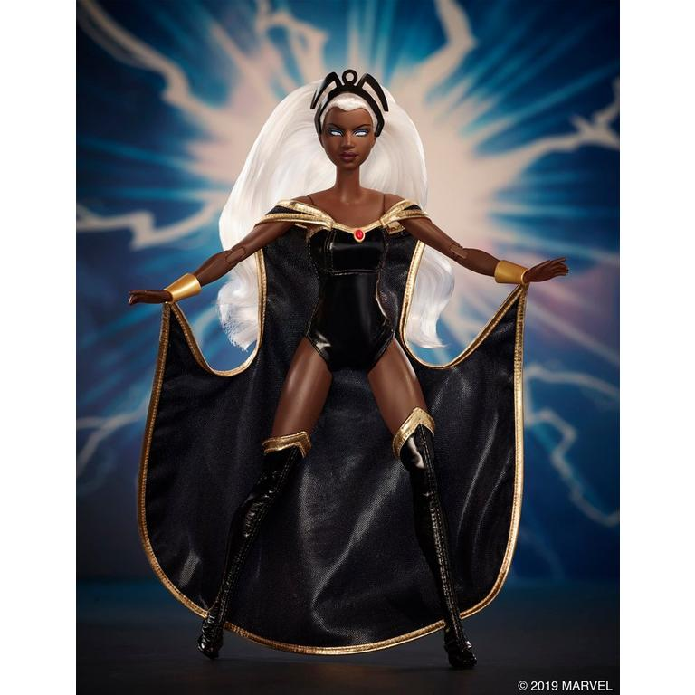 Marvel Storm Barbie Collector Doll Summer Convention 2019 Only at GameStop