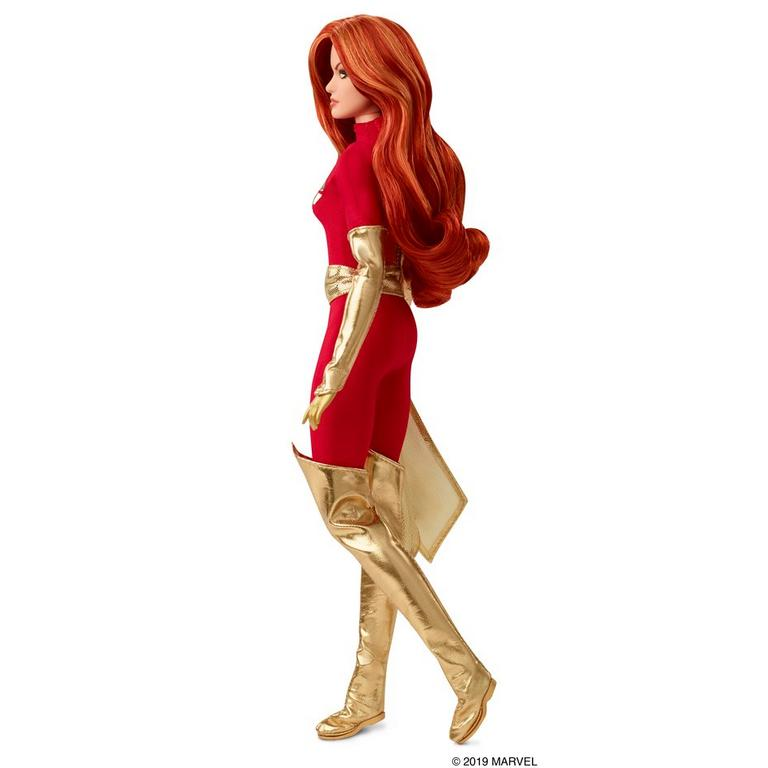 Marvel Dark Phoenix Barbie Collector Doll Summer Convention 2019 Only at GameStop