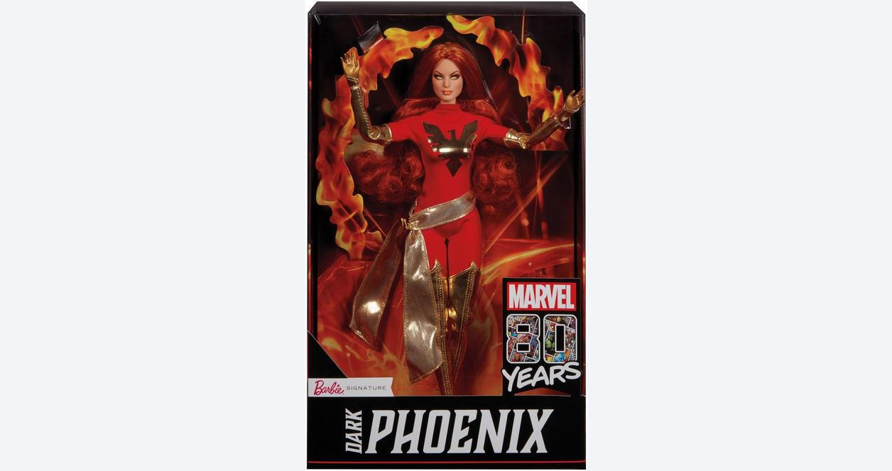 Marvel Dark Phoenix Barbie Collector Doll Summer Convention 2019 Only at GameStop