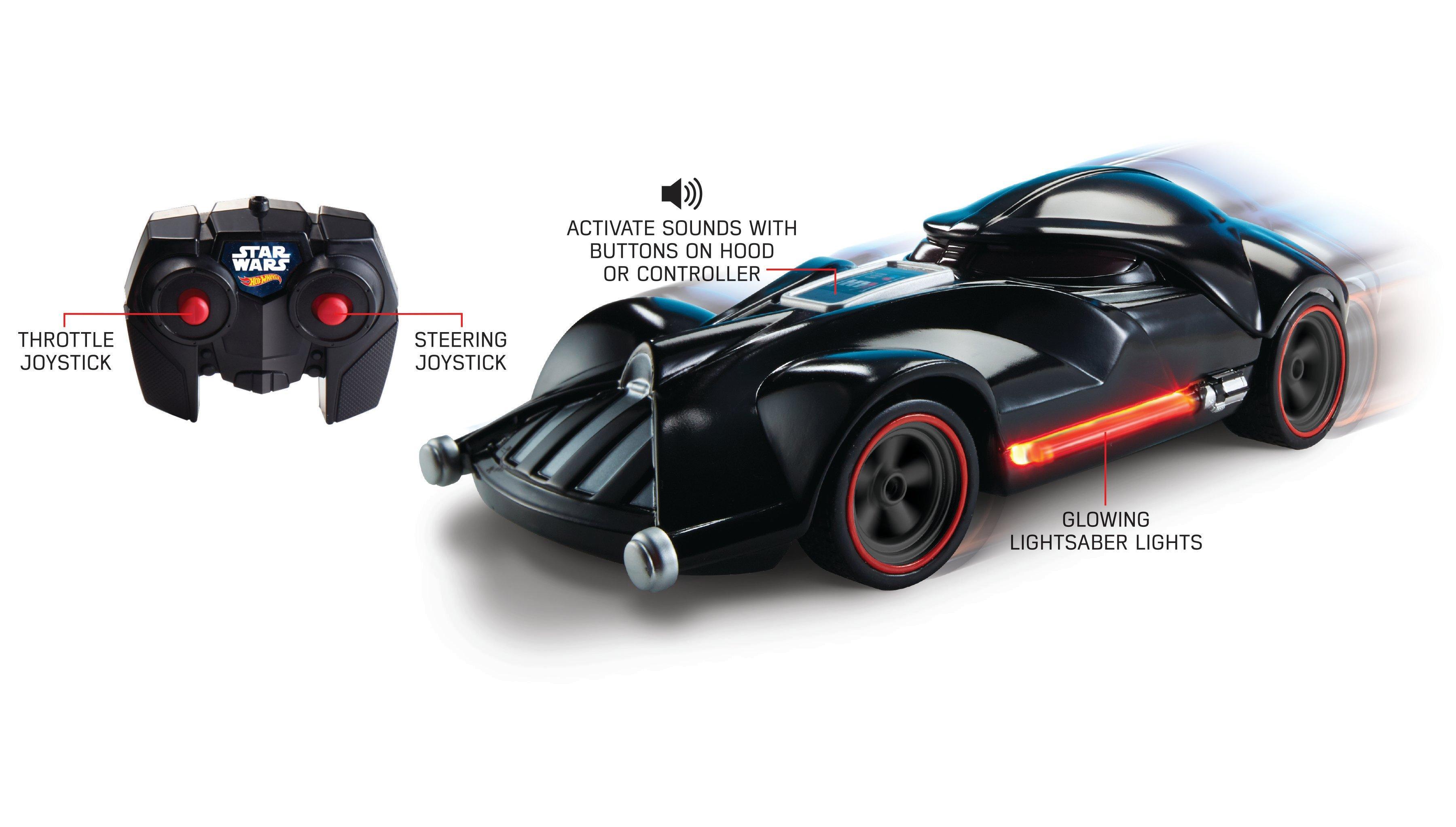 Hot Wheels Star Wars Darth Vader Rc Car Gamestop