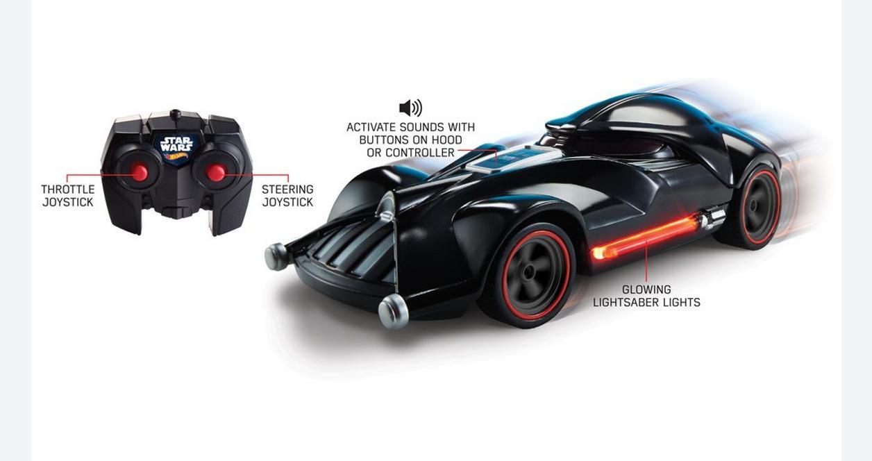 Hot Wheels Star Wars Darth Vader RC Car