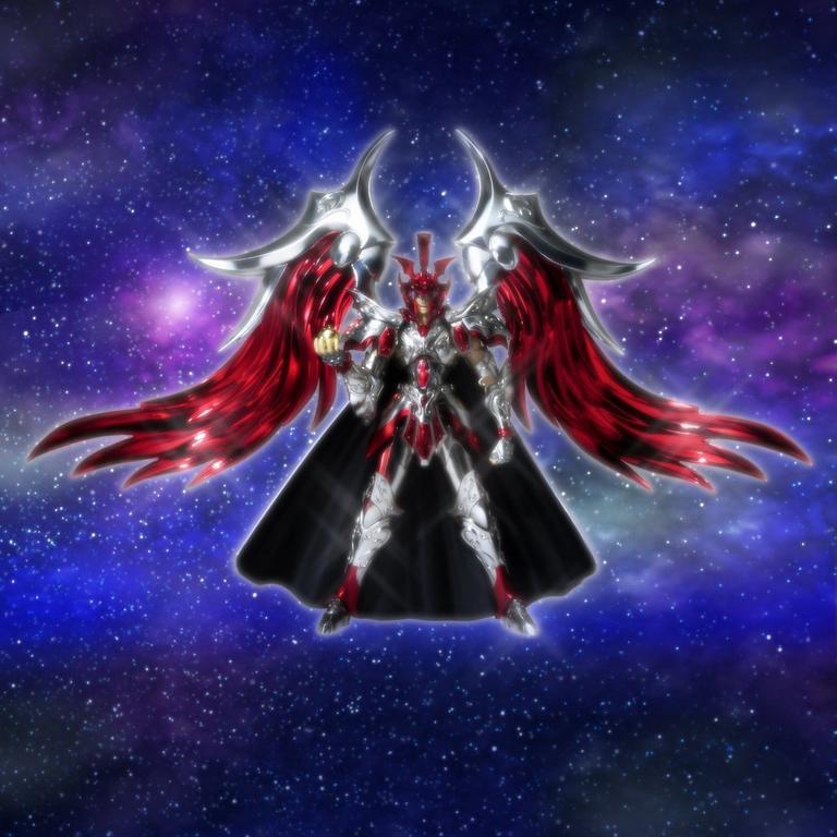 Gemini Saga Saint Cloth Myth EX Ares Figure