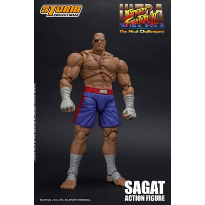 Street Fighter Sagat Figure